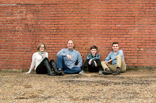 Heritage Park Field Family Portrait Photography