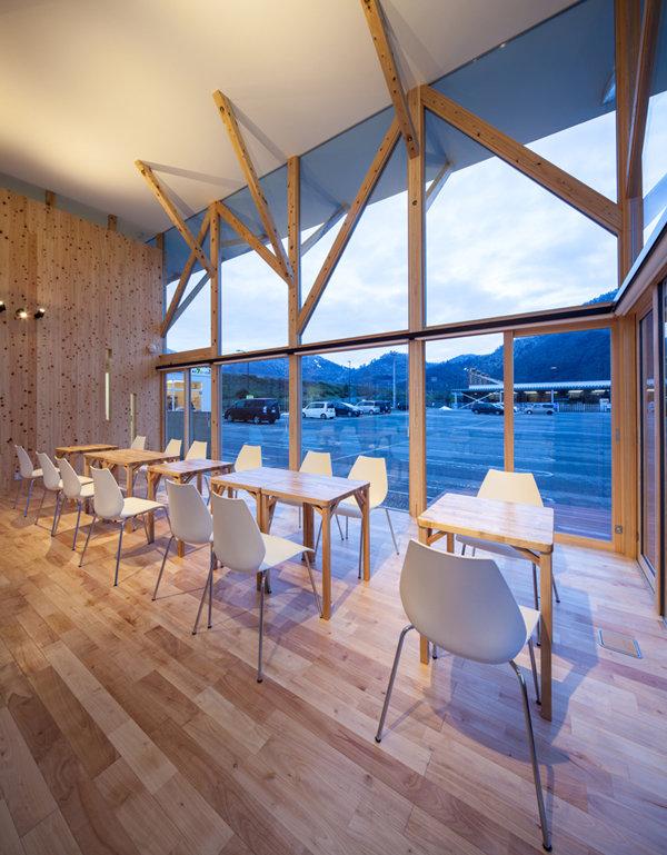 カフェ,シンプル,モダン,事務所,デザイン,ミニマル,家,建築家,設計事務所,兵庫県,養父市