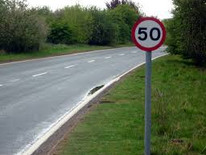 Reduction in Speed Limit on A612