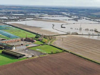 Images of the Flooded River Trent
