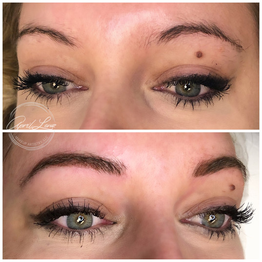 brow tattoos Chicago area
