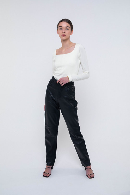 UNTITLED 1991 X ORG - Vintage leather pants