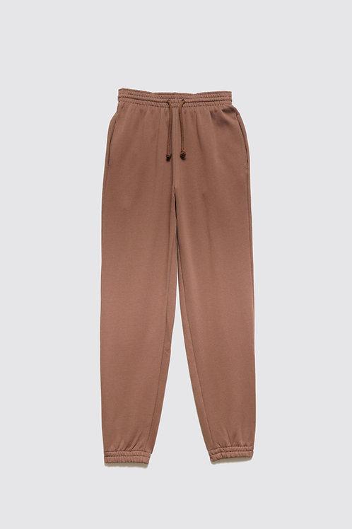BASERANGE - Loose Sweatpants, Loam Brown