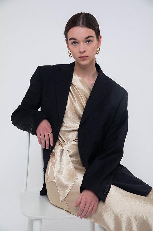 UNTITLED 1991 X ORG - Vintage anthracite blazer