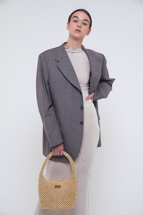 UNTITLED 1991 X ORG - Vintage taupe blazer