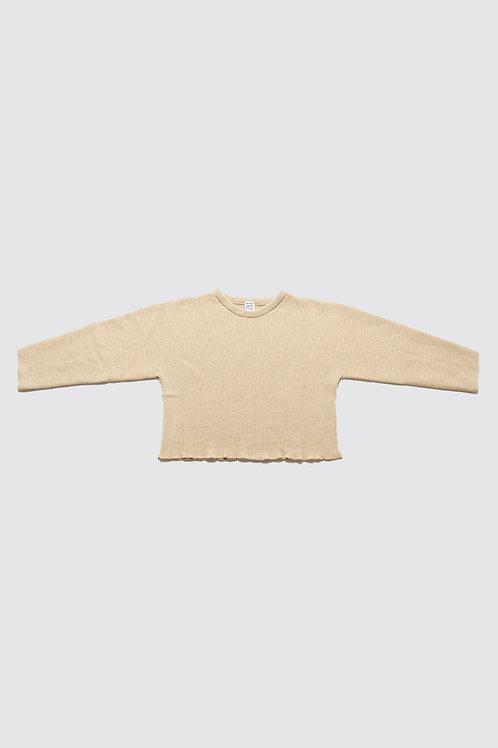 BASERANGE - Kai Sweater, Camel