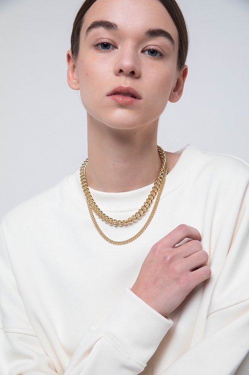 LAURA LOMBARDI - Presa Chain necklace