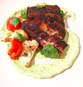 Blackened Cod Elevated Comfort Food Rich