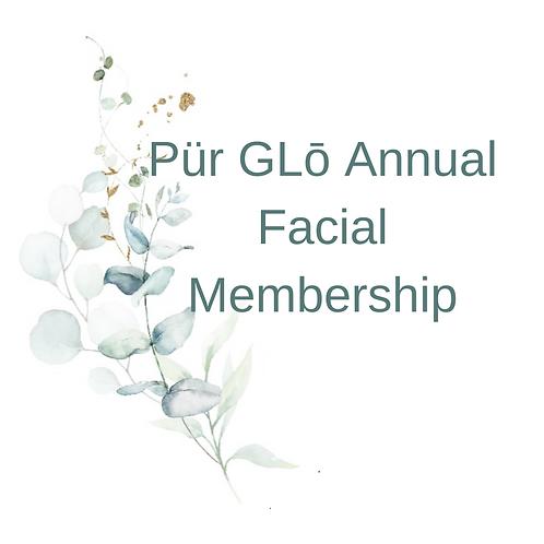 Pür GLō Annual Facial Membership
