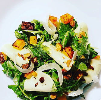 Fall Harvest Salad from Knife and Nettle
