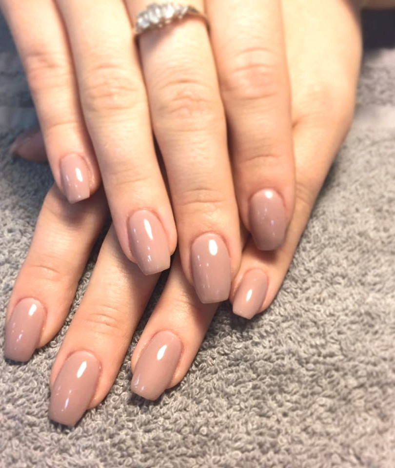 Natural Looking Gel Nail