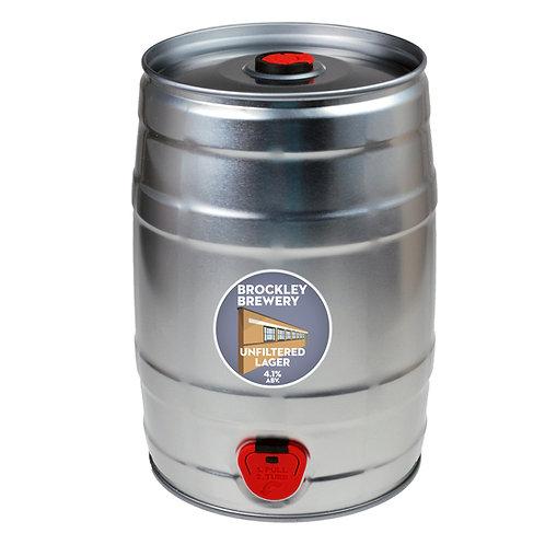 Unfiltered Lager 5L Mini Keg