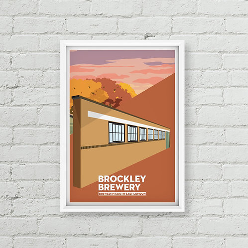 Autumn Brockley Brewery Poster (A3 / A2)