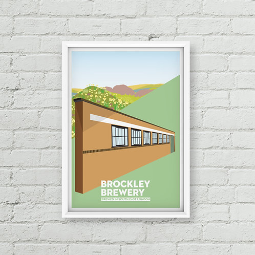 Spring at Brockley Brewery Poster (A2/A3)