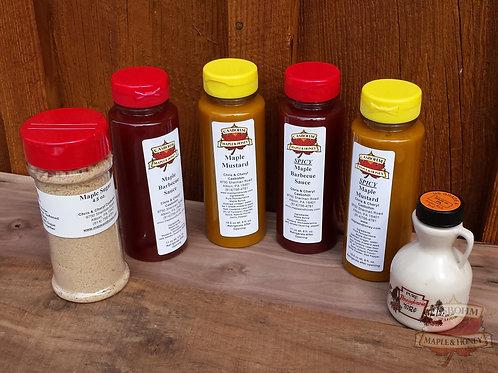 Sweet Maple Sauces
