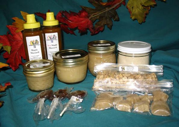 Maple Cream, Maple Sugar, Maple Syrup, Maple Candy
