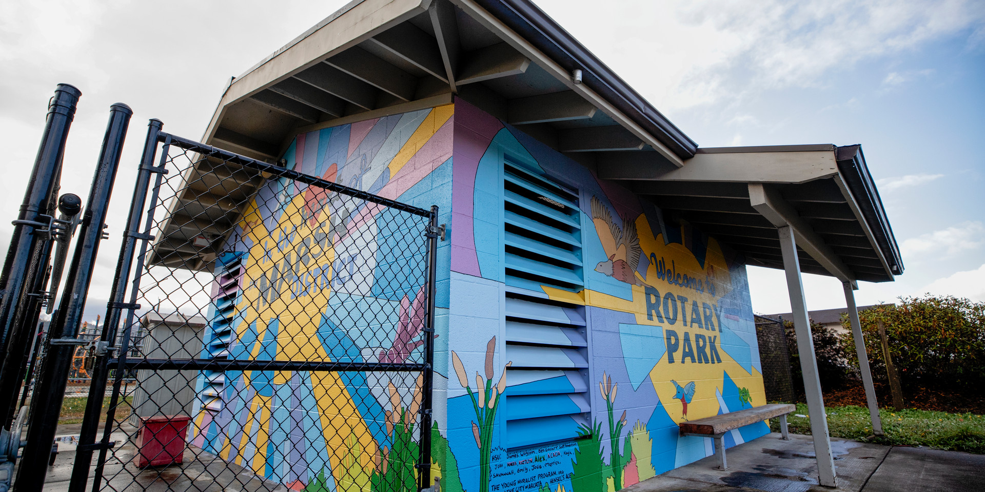 Rotary Park - The Mural Man