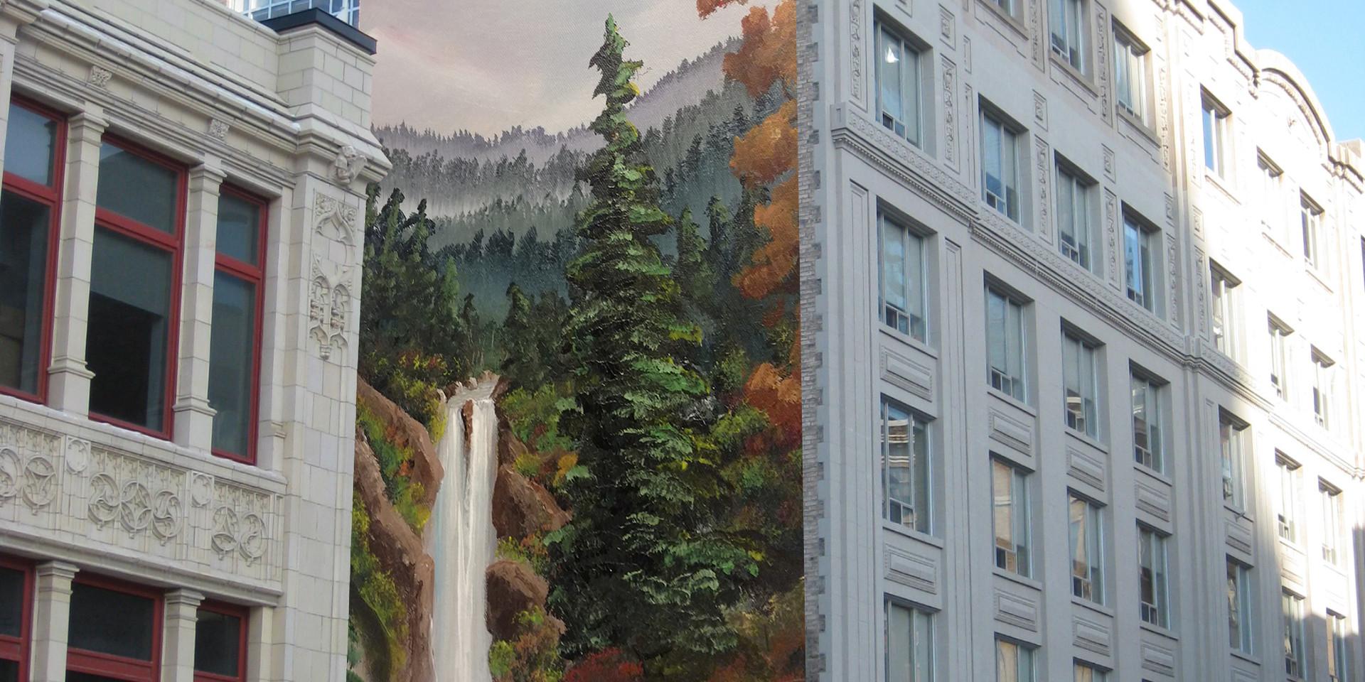 Humboldt, CA custom commercial murals