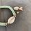 Thumbnail: Bracelet Cauri Vert