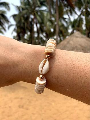 Bracelet Cauri - Cofi coquillage