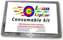 Lean Airplane Simulation Consumable Kit