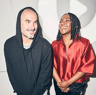Ray BLK wears This Is The Uniform for interview with Zane Lowe at Beats1, Beats1