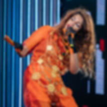 M.I.A wearing This Is The Uniform performing at Drammenelve Festival in Norway