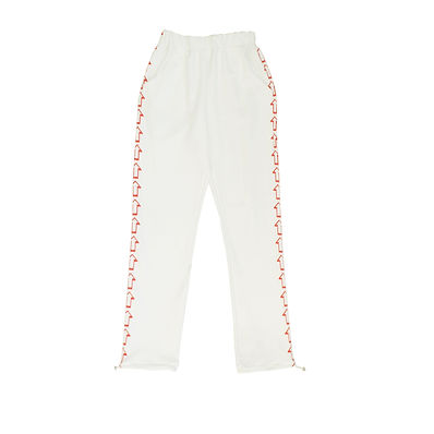 This Is The Uniform White Hand Printed Arrow Joggers