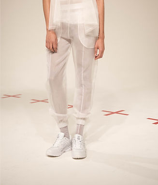 Slim Fit Sheer Joggers