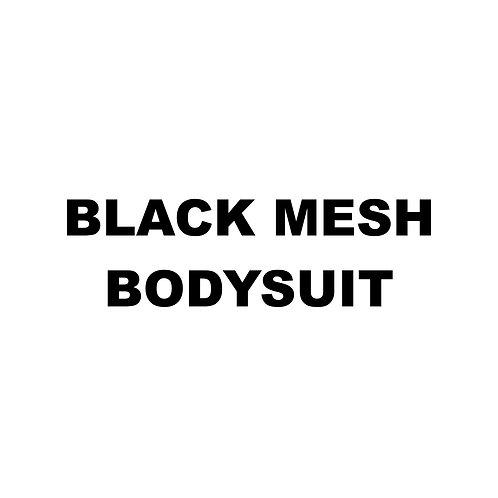 BLACK MESH BODYSUIT