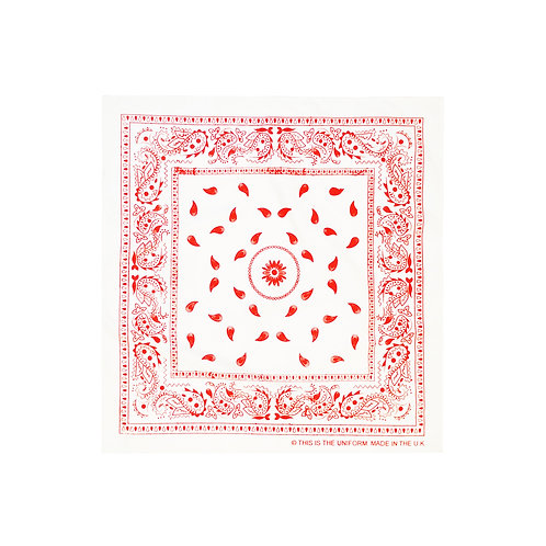 COTTON HAND PRINTED BANDANA
