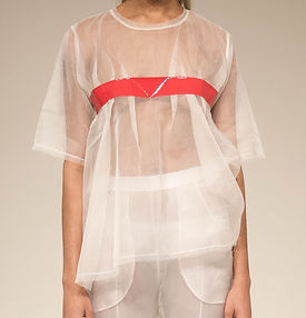 Sheer Taped Tee