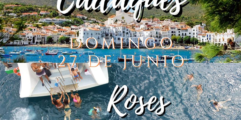 Cadaqués - Roses con Paseo en Barco de 2hrs30min