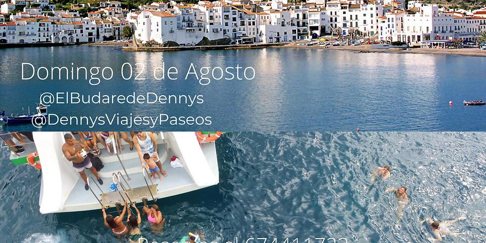 Cadaques c/Paseo en Barco Domingo 09 Agosto