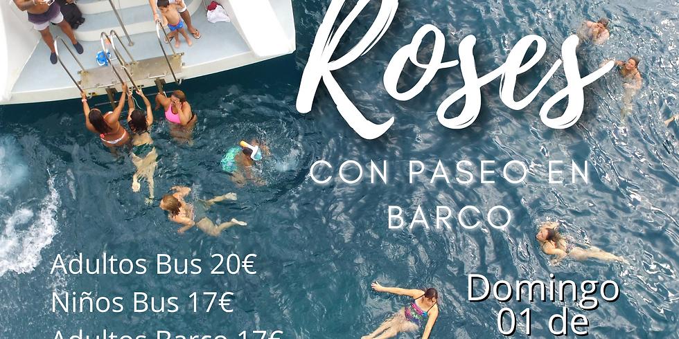 Roses con Paseo en Barco