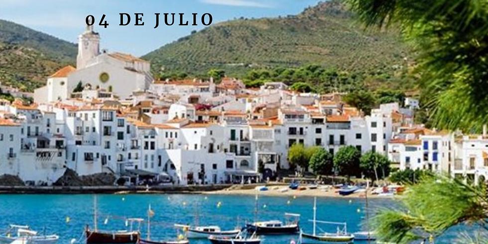 Cadaques c/Paseo en Barco Sabado 04 de Julio