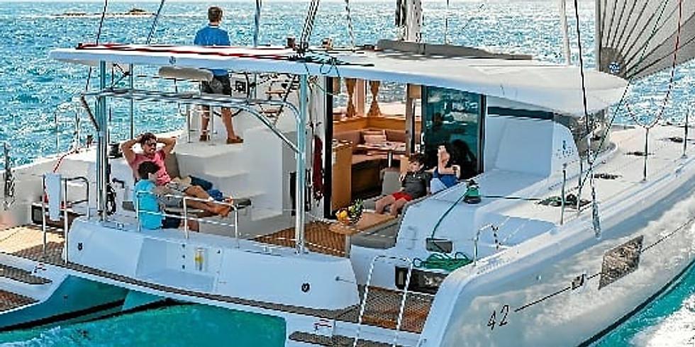 Paseo en Catamarán de Lujo