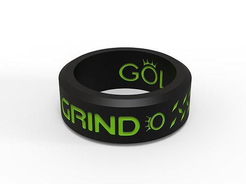 GRIND Ring Black and Green