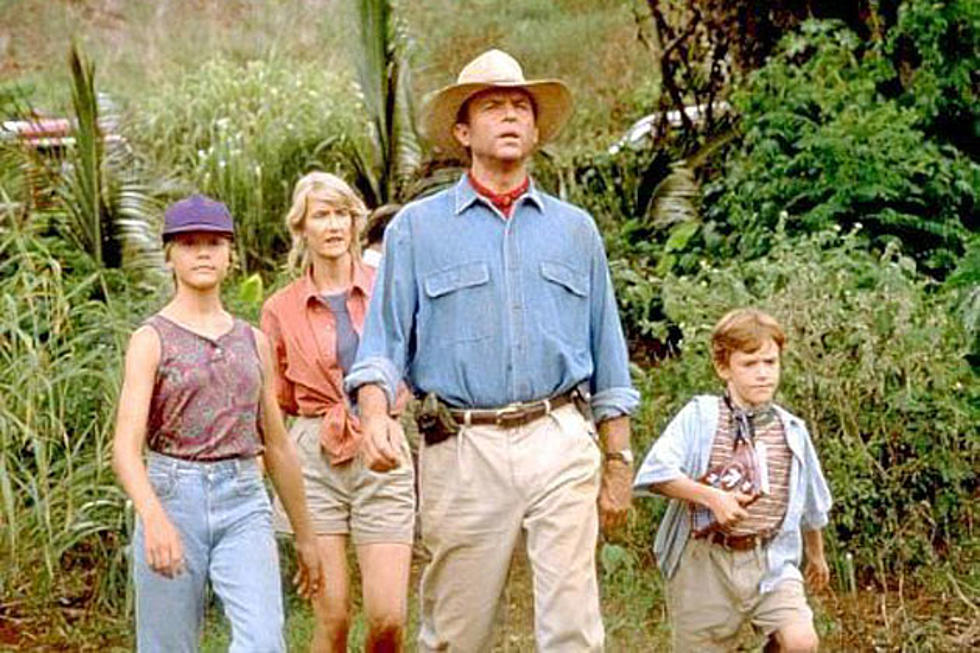 Literally the grandkids of one of the main characters, who have no idea what it means to stay put. Jurassic Park (1993)