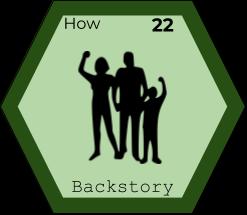 Storytelling Element - Backstory