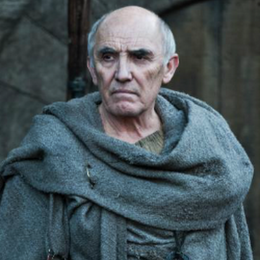Mentor figure to Brann Stark in Song of Ice and Fire.