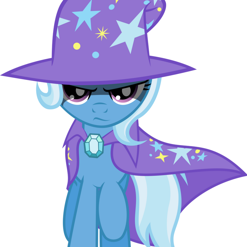Rival and comic relief foil to main character Twilight Sparkle.