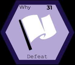 Storytelling Elements - Defeat