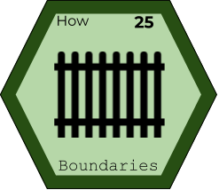 Storytelling Elements - Boundaries