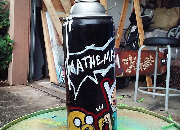 Finn and Jake Spray Can
