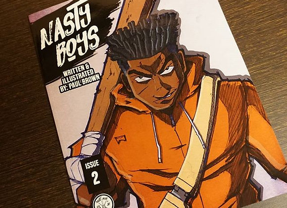 The Nasty Boys Issue 2: Physical Print