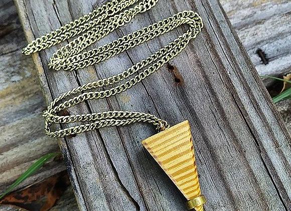 Yellow Pine Wood Pendulum Chain