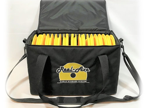 Reel-Axe Carry Bag with 10 reels