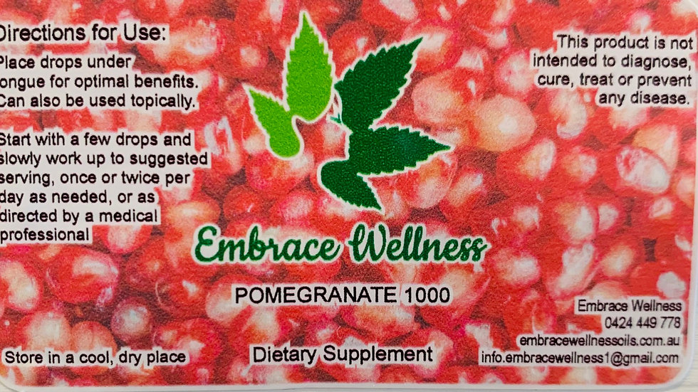 Pomegranate with Terpenes - 50ml - 1000mg