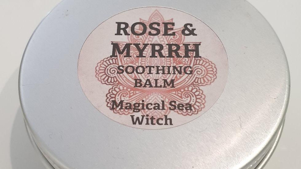 Rose & Myrrh Soothing Balm in Tin 60ml